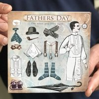 The Most Perfect Dad Father's Day Card
