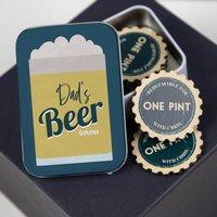 Personalised Beer Tokens