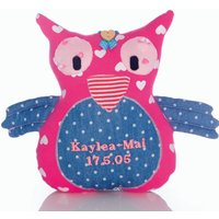 Personalised Keepsake Owl
