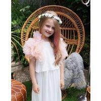 Pippa Tulle Wrap ~ Folklore Fairy, White
