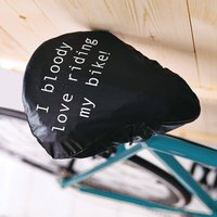 Bloody Love Riding My Bike Seat Rain Cover For Cyclists