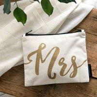 Mrs Wedding Bag For Make Up