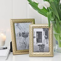 Gold Hammered Photoframe