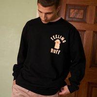 Feeling Ruff Men's Slogan Sweatshirt