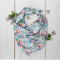 Blooms Silk Neckerchief