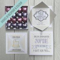 Christening Personalised I.O.U Gift Box Voucher