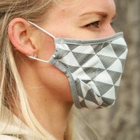 Triangle Sustainable Adult Reusable Face Mask