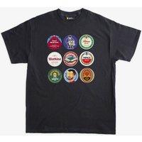 Aston Villa Football Beer Mats T Shirt