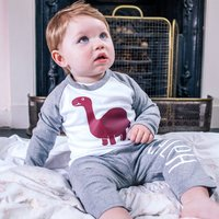 Personalised Childrens Dinosaur Pyjamas