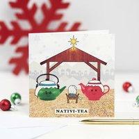 Nativi Tea Funny Tea Christmas Card