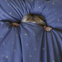 Indigo Starry Sky Duvet Set In Cot Bed And Single