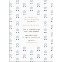 20 Blossom Christening Invitations