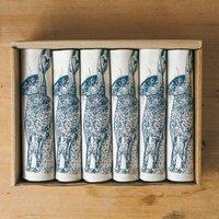Blue Hare Napkin Gift Set