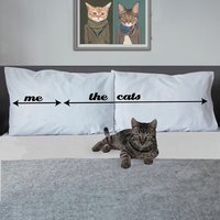Personalised Pillowcases For Crazy Cat Ladies