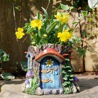 Fairy Forest Garden Toadstool Flower Pot