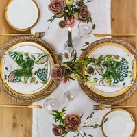 Spring Date Night Duo Tablescape Table Décor Package