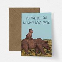Cute Mummy Bear Mothers Day Card