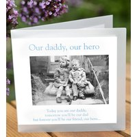 'Our Daddy, Our Hero' Greeting Card