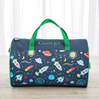 Personalised Space Print Holdall