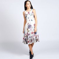 Lavinia 50s Style Dress In Floral Print
