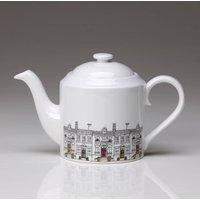 Tall Sided Street Scene Teapot