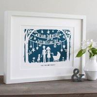 Wishes Fine Art Print Or Original Papercut In Mount