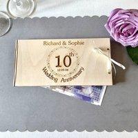Personalised Wedding Anniversary Money Gift Envelope