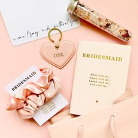 Bridesmaid Personalised Gift Bag Set