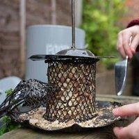 Mesh Cage Bird Feeder With Mesh Bird