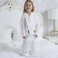 Girl's Personalised London Cotton Pyjamas