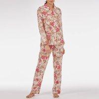 Cotton Pyjamas In 'Pink Beautiful' Rose Print