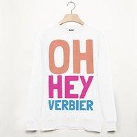 Verbier Retro Apres Ski Alpine Slogan Sweatshirt