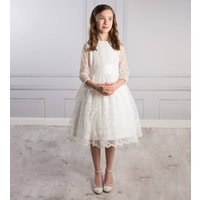 Belle Lace Communion Flower Girl Dress