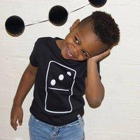Domino Children's Birthday Tshirt