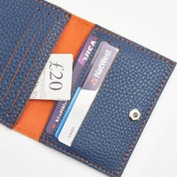 Personalised Vegan Non Leather Cape Card Wallet