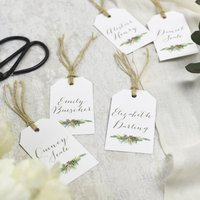 'Highland' Wedding Place Cards More Colours