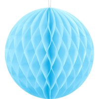 Pale Blue Honeycomb Decorations: Pack Of Two