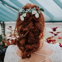 Clara Wedding Flower Bridal Hair Pin Set