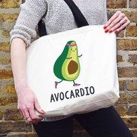 'Avocardio' Funny Tote Bag