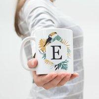 Personalised Tropical Toucan Mug