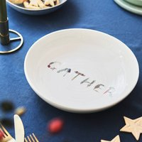 Gather Illustrated Platter