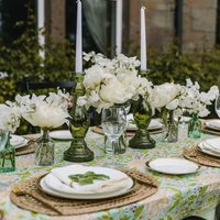 Mint And Moss Tablescape Table Décor Collection