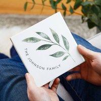 Family Tree Gift For Dad Ceramic Tile
