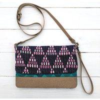 Purple Haze Vegan Clutch Bag / Purse