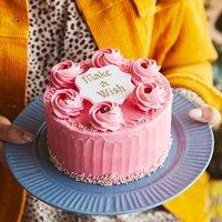 Pink Red Velvet Sponge Cake