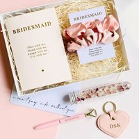 Will You Be My Bridesmaid Personalised Gift Set
