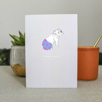 Hello Snazzy Pants Greeting Card