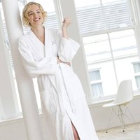 Personalised Towelling Bath Robe Dressing Gown