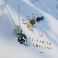 Frog Spirit Animal Gemstone Necklace