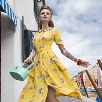 Daphne Dress | Authentic Vintage 1940's Style